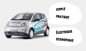 Véhicule électrique BlueLy