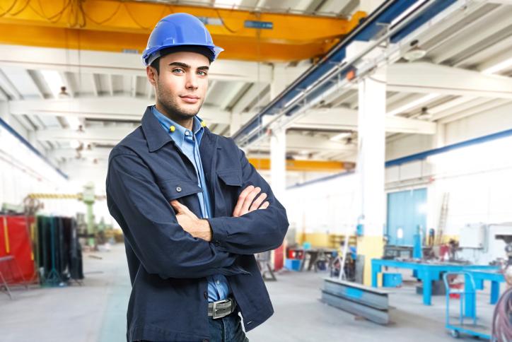 Ingénieur sur un chantier